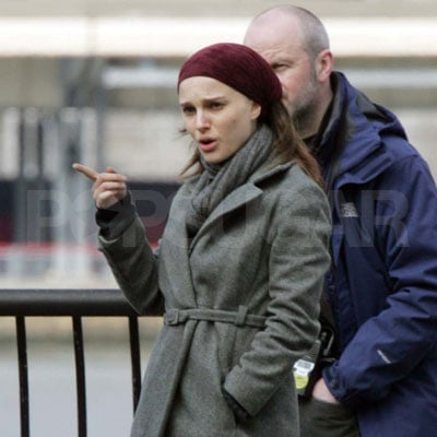 Natalie Portman On the Set of New York I Love You