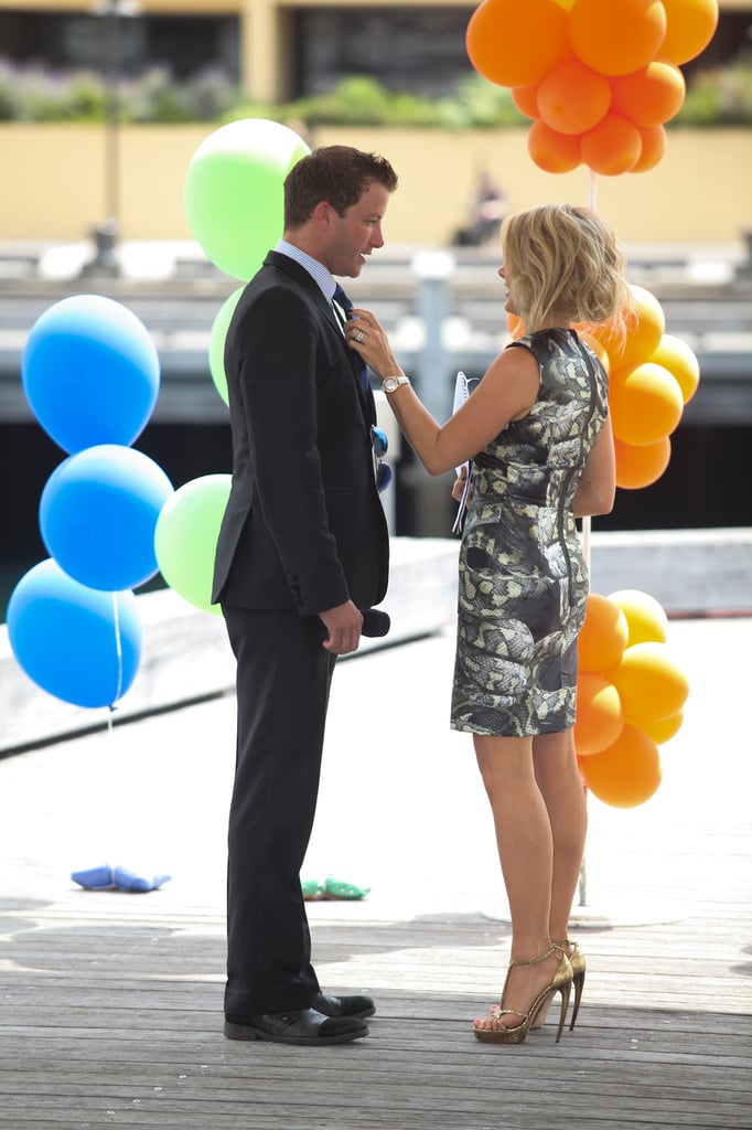 Luke Jacobz and Natalie Bassingthwaighte