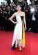 Marion Cotillard in Colorblocked Dior Gown