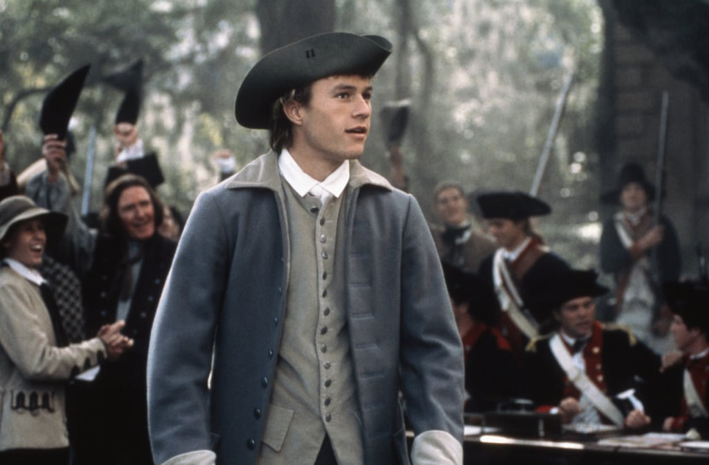 As the handsome son in The Patriot.