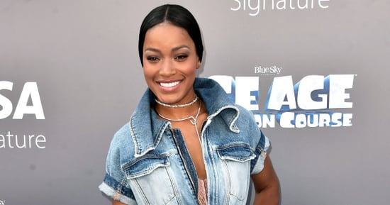 Keke Palmer Takes Denim Jumpsuits to the Next Level