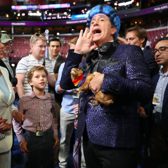 Stephen Colbert's Hungry For Power Games at the DNC 2016