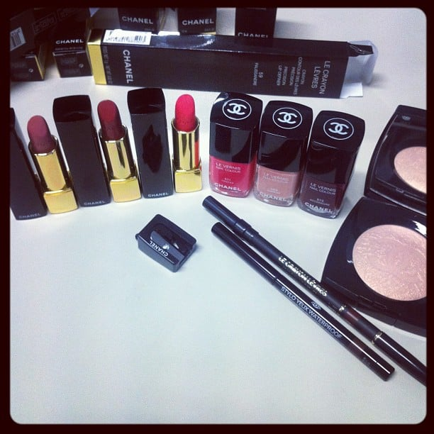 Alison got her lucky paws on Chanel's entire Spring '13 collection and, yes, it's as amazing as we were hoping!