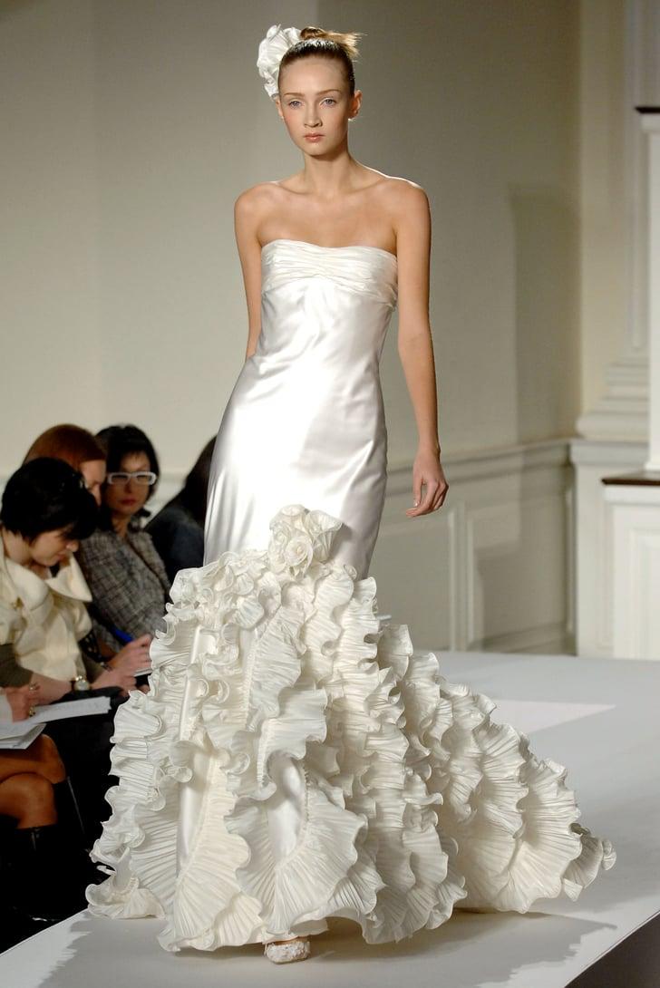Oscar de la renta spring 2009 bridal collection popsugar for Oscar dela renta wedding dress