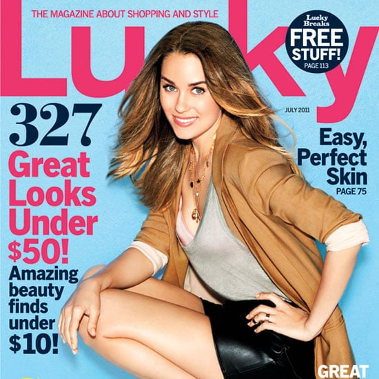Pictures of Lauren Conrad in Lucky Magazine's July Issue