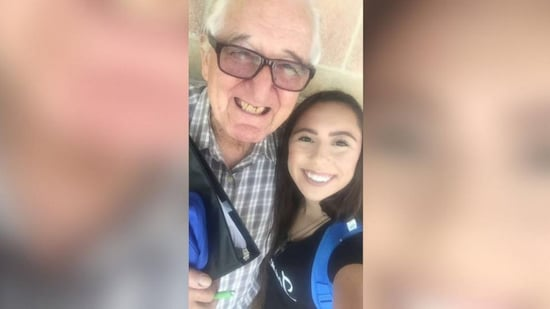 This Freshman and Her 82-Year-Old Grandfather Go to the Same College