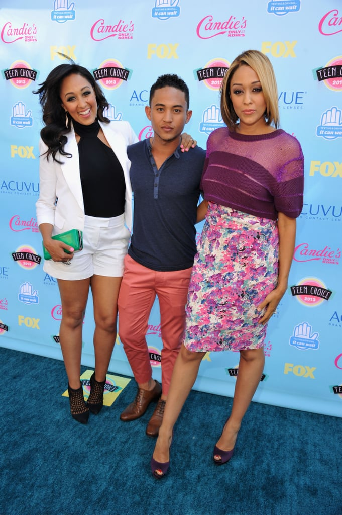 In 2013, Tia and Tamera Mowry hit the red carpet with their brother, Tahj.