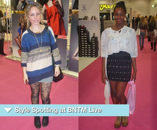 Photos of Street Style at 2010 Britain's Next Top Model Live at ExCel in London