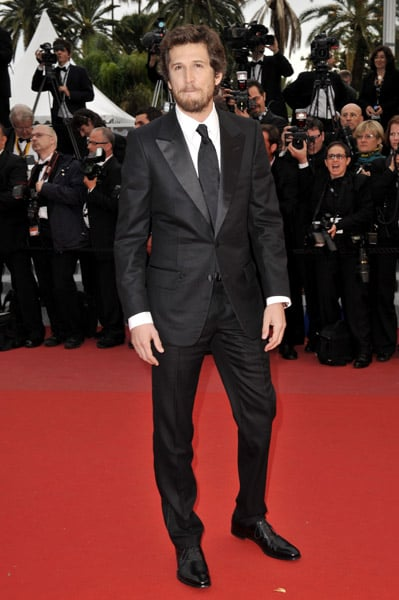 French actor Guillaume Canet looked delicious in Yves Saint Laurent.