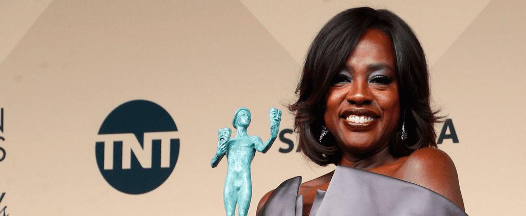 Viola Davis Says She Aims to Create Characters, Not Heroes, at the SAG Awards