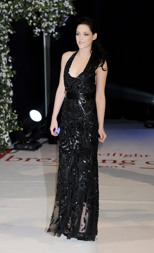 Kristen Stewart at the UK premiere of Breaking Dawn Part 1.