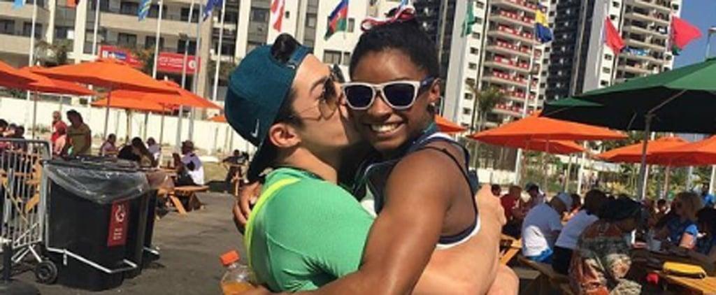 "Simone Biles's Brazilian ""Boyfriend"" Calls Out Zac Efron: ""She Is My Girl!"""