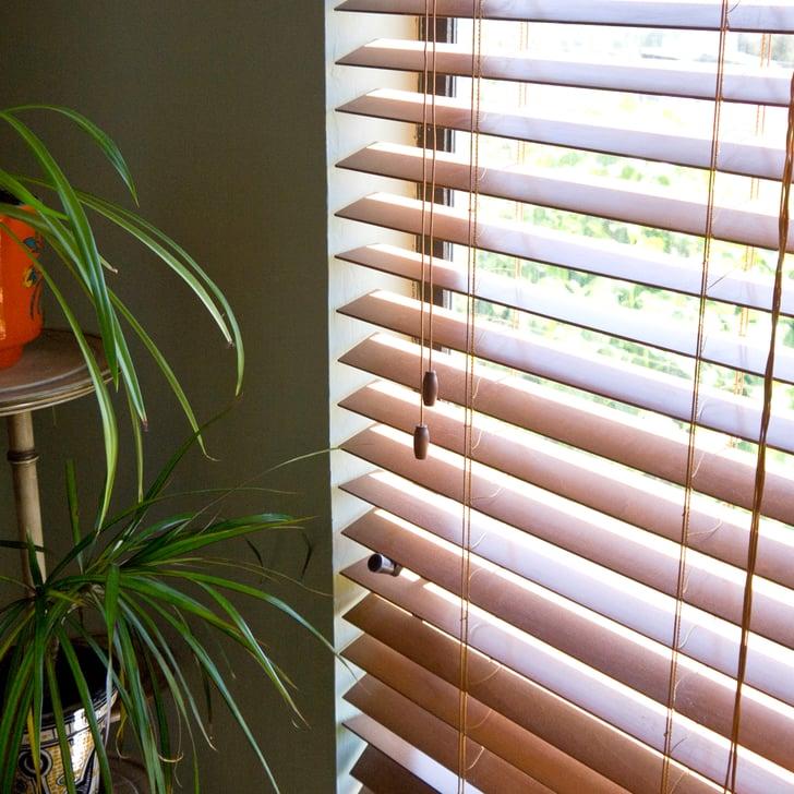 how to clean blinds popsugar smart living. Black Bedroom Furniture Sets. Home Design Ideas