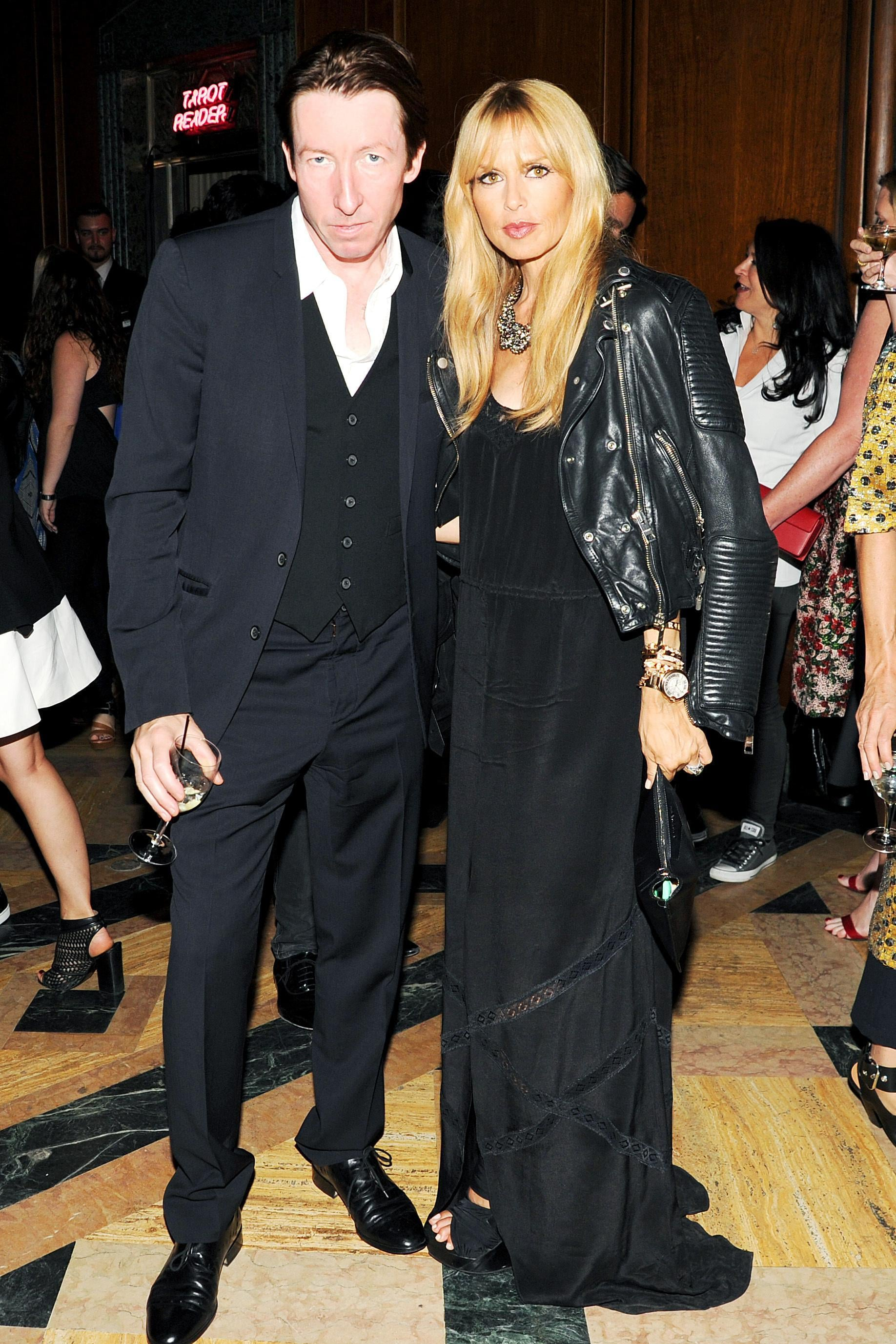 Rachel Zoe mingled with photographer Craig McDean. Source: Jason Merritt/BFAnyc.com