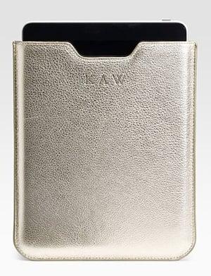 Saks Fifth Ave. iPad Case ($135)