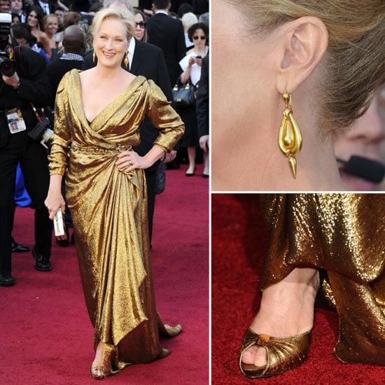 Meryl Streep at Oscars 2012