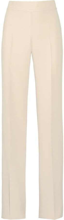 . . . and finish the look with these Calvin Klein Collection Perm Stretch-Cady Wide-Leg Pants ($795).