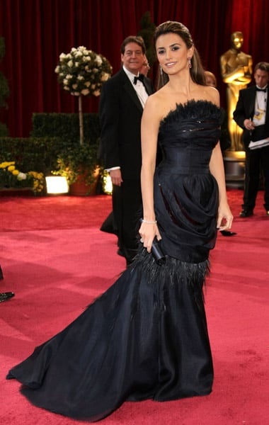 Penelope Cruz at the 2008 Academy Awards