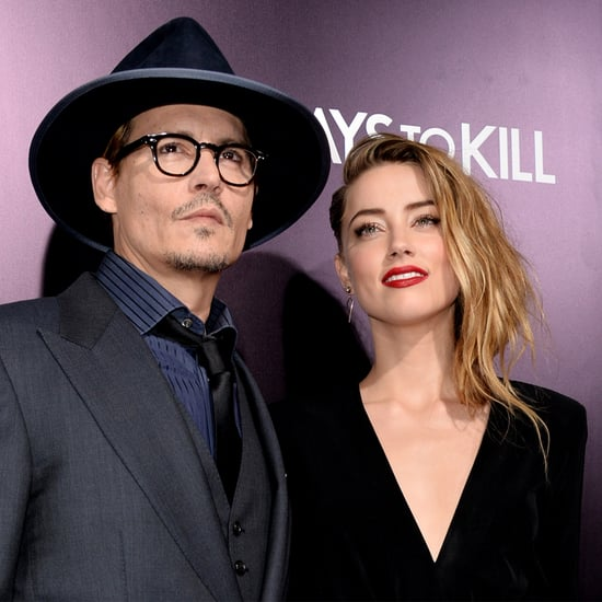 Johnny Depp and Amber Heard Host Engagement Party