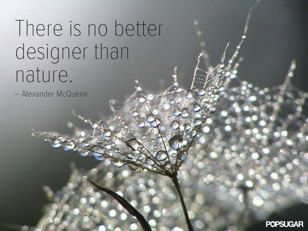 Some of the most beautiful creations come without a single stitch.