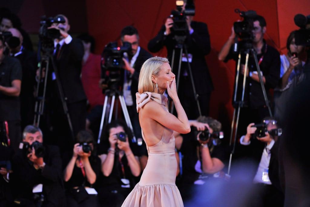 Gwyneth Paltrow at the Contagion premiere.