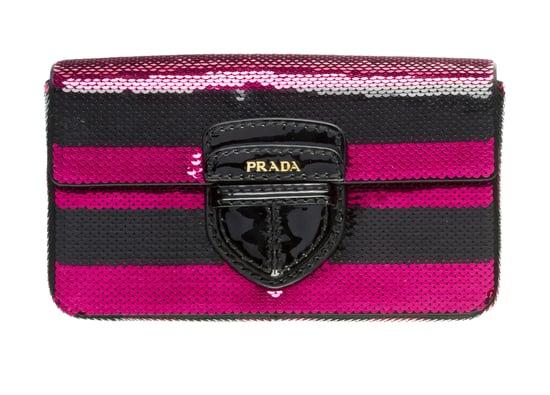 Photos of Prada Paillettes Handbag Collection