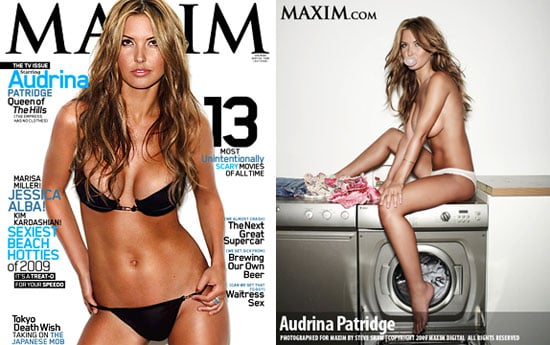 Photos of Audrina Patridge in Maxim October Topless and in Bikini With Cupcakes