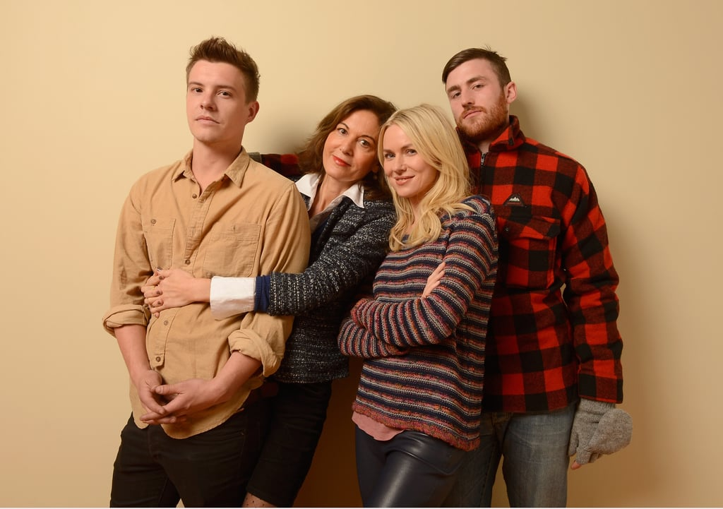 Xavier Samuel, director Anne Fontaine, Naomi Watts and James Frecheville promoted Two Mothers at the Sundance Film Festival on Jan. 18.