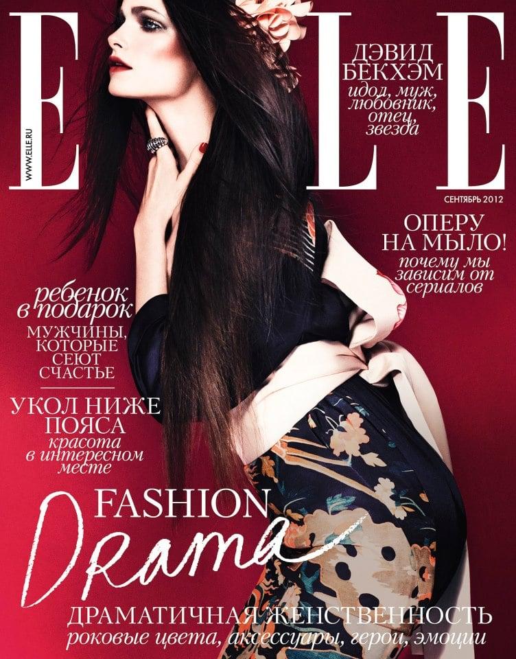 Elle Russia September 2012