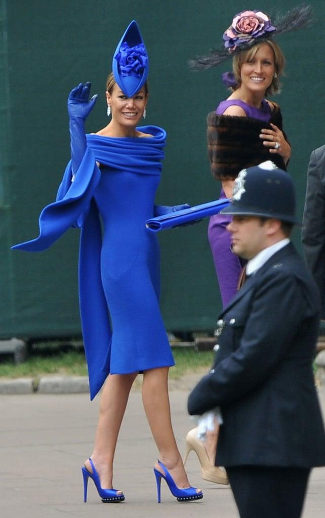 Tara Palmer-Tomkinson Arrives at the Royal Wedding!