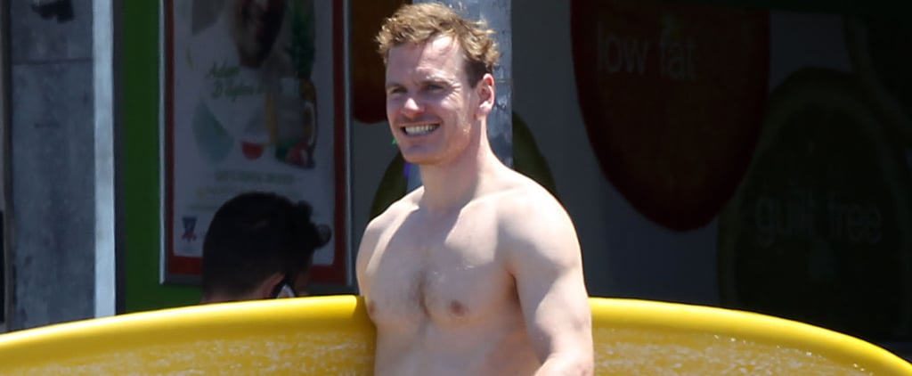 Shirtless Michael Fassbender Gets Crazy Sexy Without Even Trying