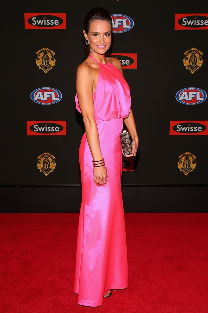 Kylie Brown the wife of Jonathan Brown of the Lions.