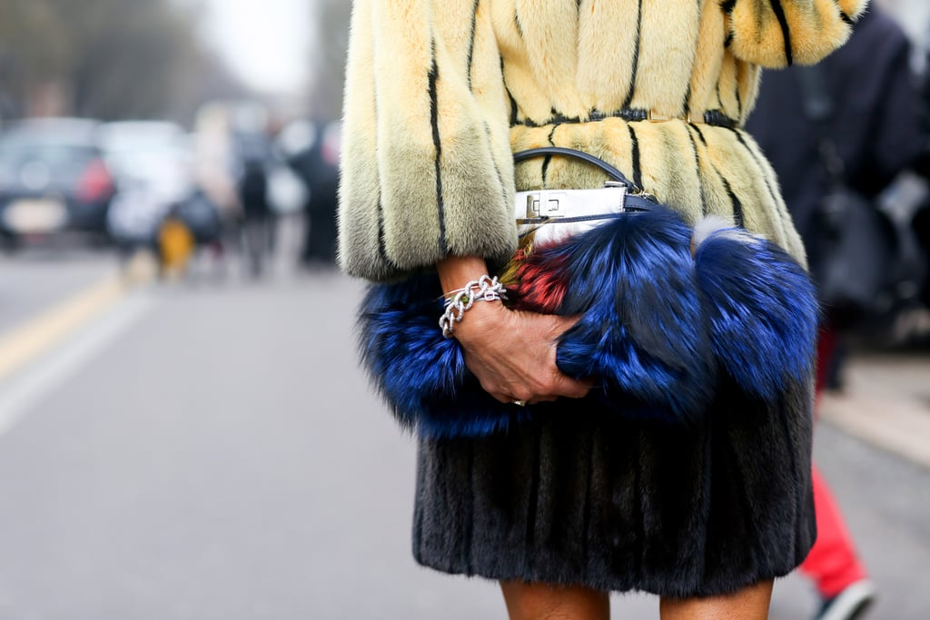 If you had to guess, you'd say this was Anna Dello Russo's clutch, wouldn't you? You'd be right.