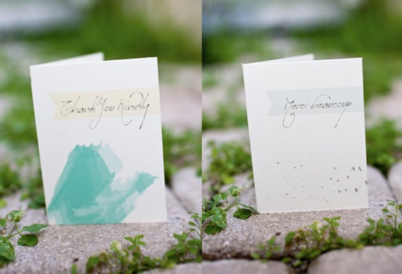 Elegant Thank You Cards