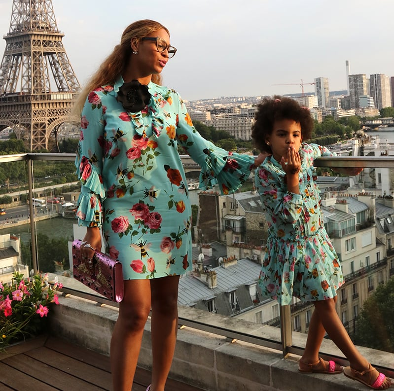 Blue and beyonce ivy july