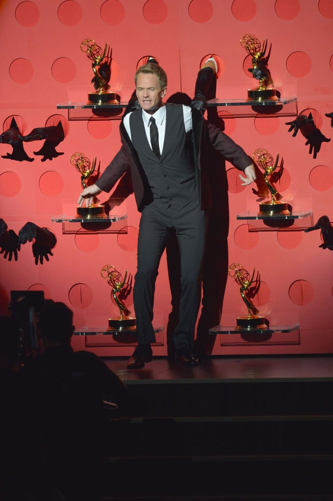 Neil Patrick Harris performed at the Emmys.