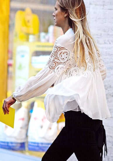 The French-Girl Way To Wear The Bohemian Trend