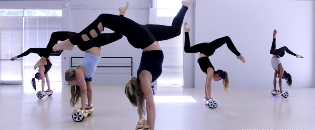 "You Need to See This Acrobatic Routine on Hoverboards Set to Justin Bieber's ""Sorry"""
