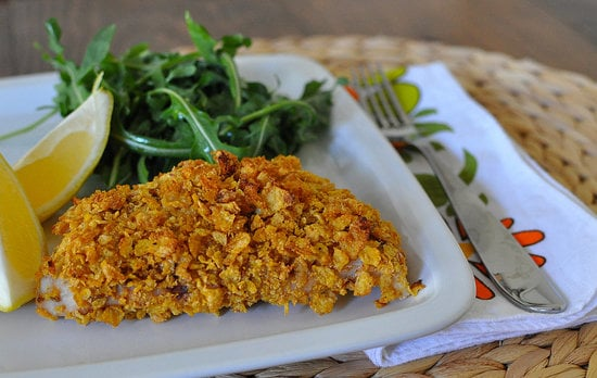 Cornflake-Crusted Snapper