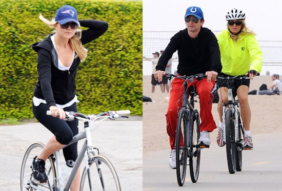 Pictures of Kate Hudson and Matt Bellamy Together in LA With Goldie Hawn and Kurt Russell