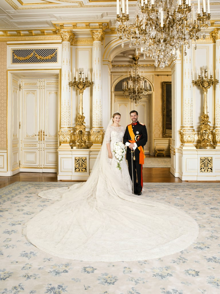 Aw, Another Royal Wedding! See The Beautiful Elie Saab Gown Up Close