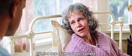 When Forrest's Mom Gives Him Parting Advice