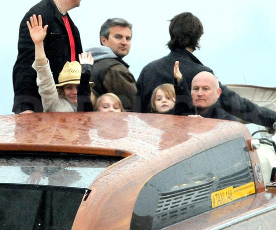 Slide Picture of Vanessa Paradis in Venice With Lily-Rose And Jack Depp