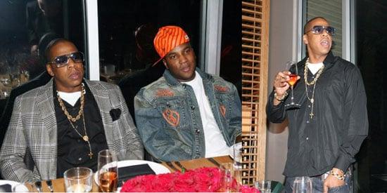 Jay-Z Enjoys Vegas Sans Beyonce