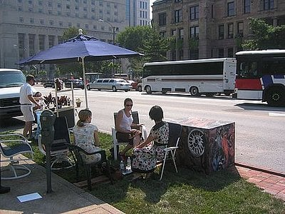 Join Us Today For Park(ing) Day!