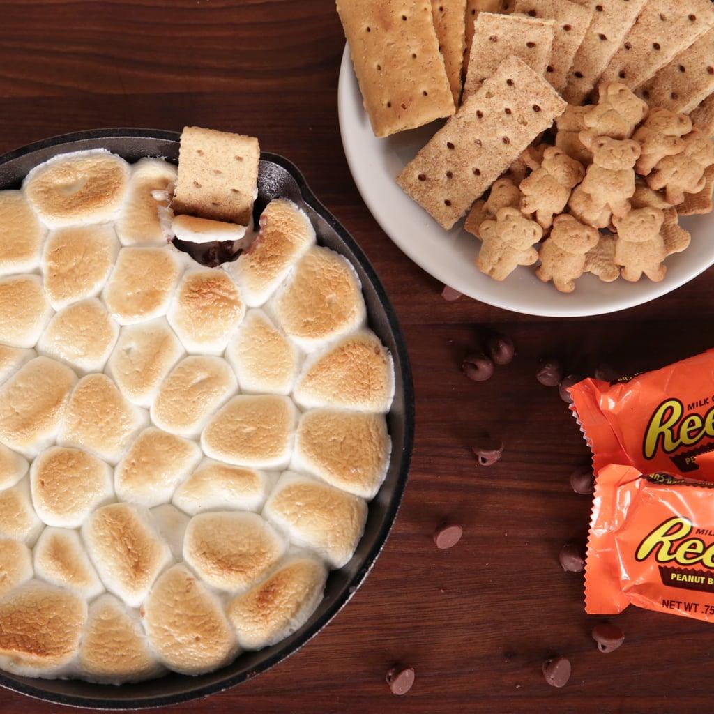 Peanut Butter S'mores Dip