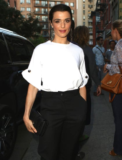 Rachel Weisz at the New York premiere of Complete Unknown