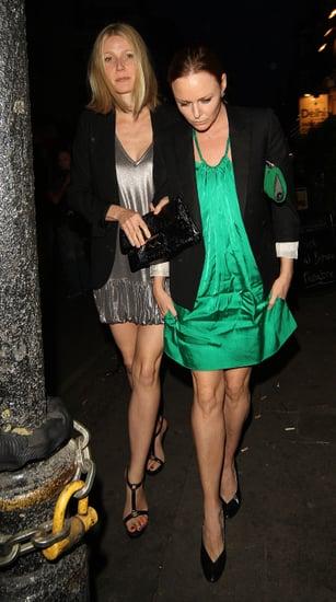 Stella McCartney Gives Gwyneth Something to Lean On