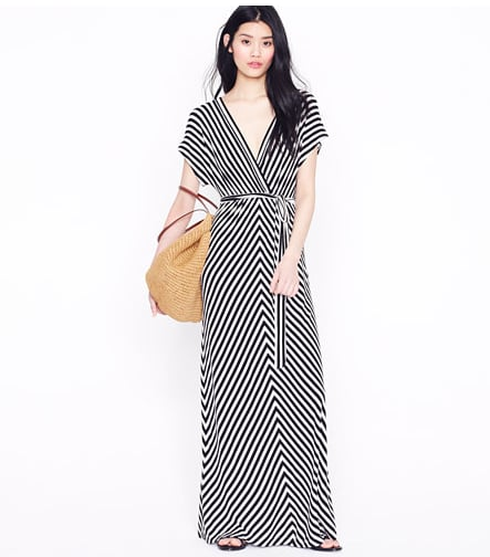 Dress this relaxed maxi up with wedges for any festive breakfast or lunch happenings. Then slip on your flip-flops and head to the beach to enjoy your postwedding bliss.  J.Crew Kimono-Sleeve Maxi Dress ($118)