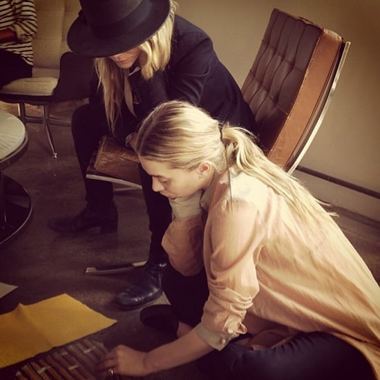 Mary-Kate and Ashley Olsen Designing Handbags Instagram